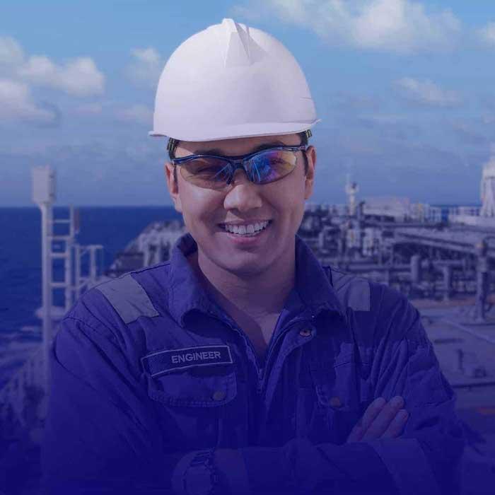 BSc in Marine Engineering + 3rd Engineer COC